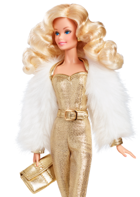Golden Dream Barbie Doll
