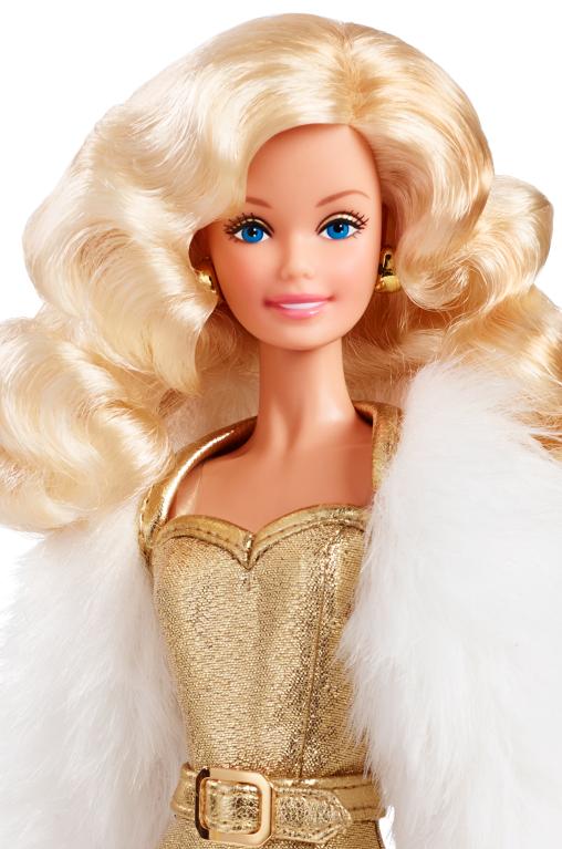 Golden Dream Barbie Doll