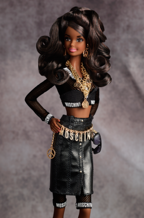 Moschino Barbie Doll – African American