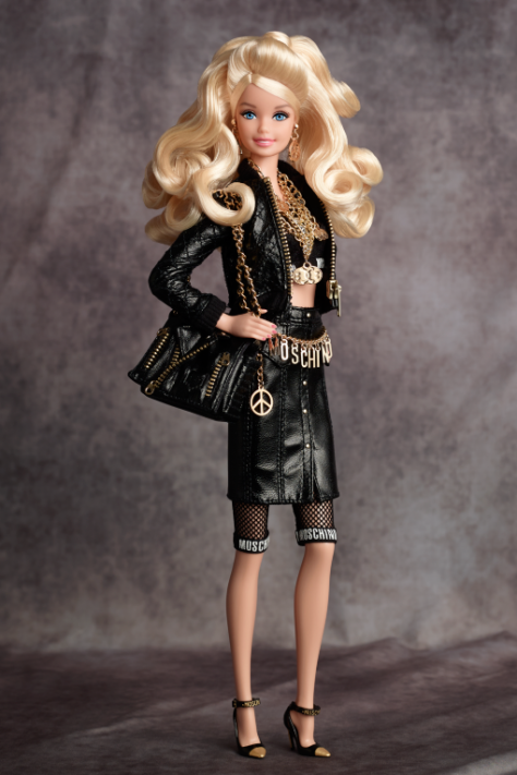 Moschino Barbie Doll – Caucasian