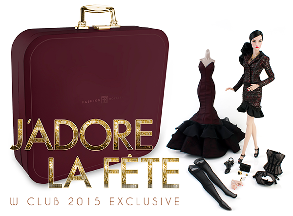 J'Adore La Fête Elyse Jolie, la última muñeca exclusiva del W Club en 2015