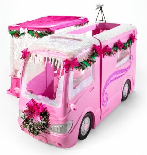 """Barbie Original One of a Kind Holiday """"Glamper"""""""