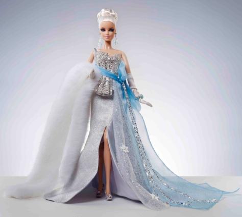 Winter Bliss! Miss Frost Barbie Doll
