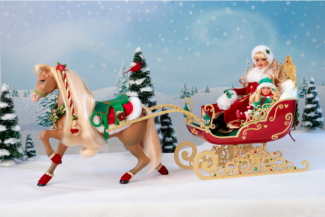 Dashing Through the Snow Sisters Sleigh Set