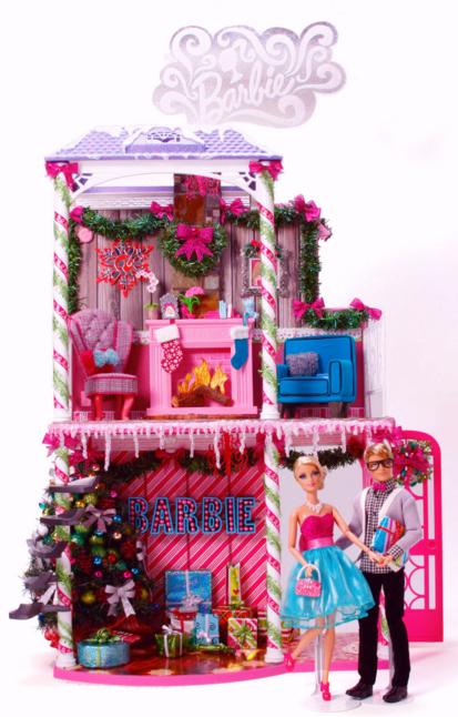 Barbie Very Merry Cabin