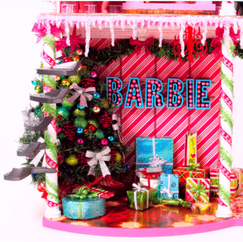 Barbie Very Merry Cabin