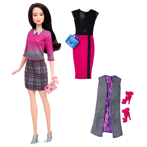 2016_Barbie_Fashionistas_36_Chic_with_a_Wink_Doll_&_Fashions_Original