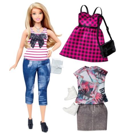 2016_Barbie_Fashionistas_37_Everyday_Chic_Doll_&_Fashions_Curvy