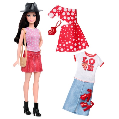 2016_Barbie_Fashionistas_40_Pizza_Pizzazz_Doll_&_Fashions_Petite