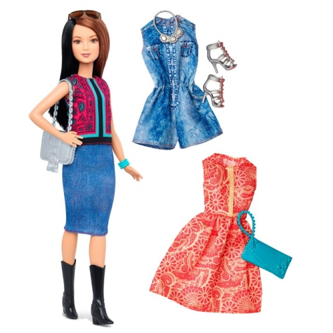 2016_Barbie_Fashionistas_41_Pretty_in_Paisley_Doll_&_Fashions_Petite