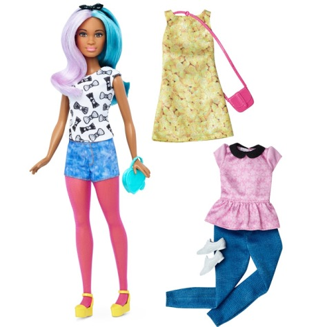 2016_Barbie_Fashionistas_42_Blue_Violet_Doll_&_Fashions_Petite