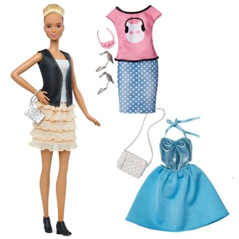 2016_Barbie_Fashionistas_44_Leather_&_Ruffles_Doll_&_Fashions_Tall