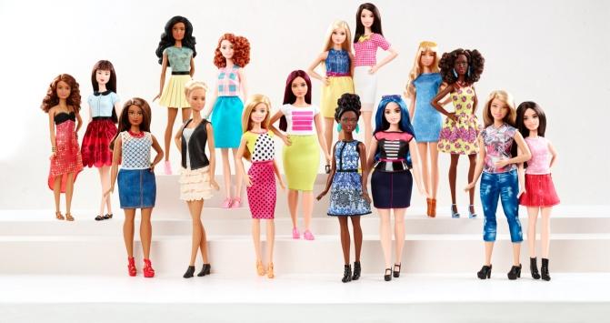Las nuevas  Barbie Fashionistas protagonizan el anuncio más importante de las últimas décadas en Mattel