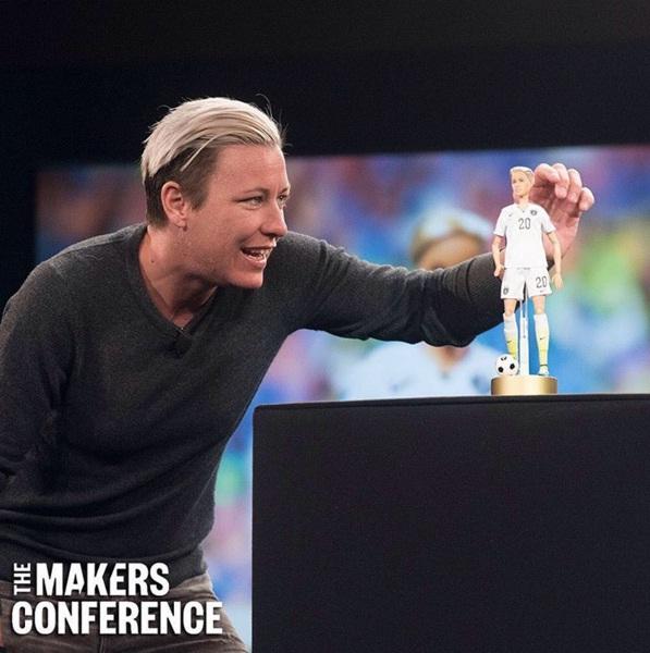 Sheroes: Abby Wambach es homenajeada con una Barbie propia