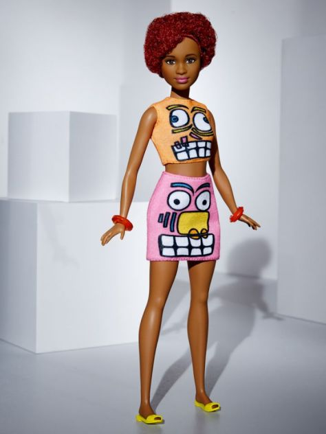 Jeremy Scott Barbie Doll