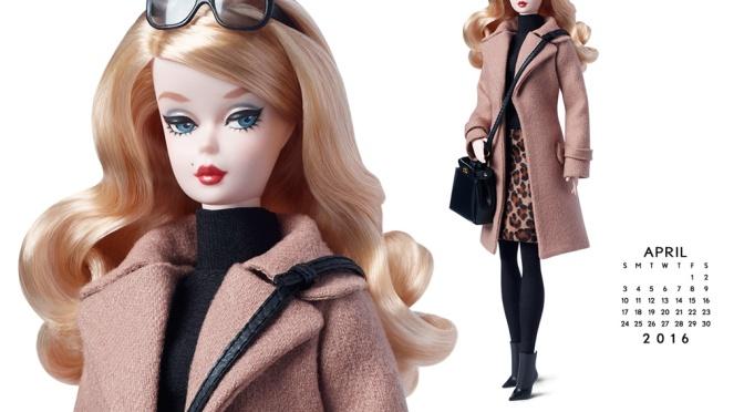 Calendario oficial de The Barbie Collection: abril de 2016