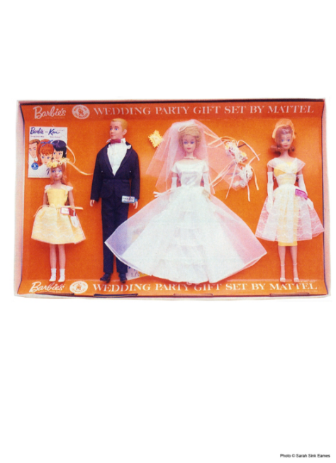 Barbie's Wedding Party Gift Set #1017