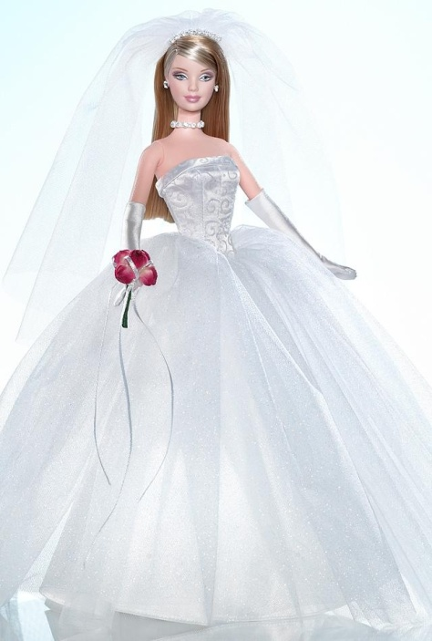 David's Bridal Unforgettable Barbie Doll