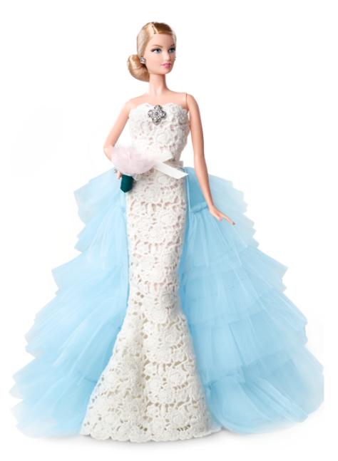 Oscar de la Renta Barbie Doll