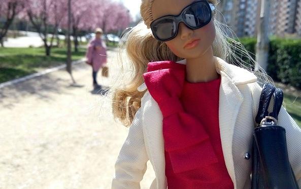 El primer paseo de Élaine, una chica IT
