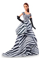 Chiffon Ball Gown Barbie Doll