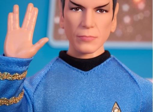 ¡Los muñecos de Star Trek vuelven! Pero más clásicos que nunca