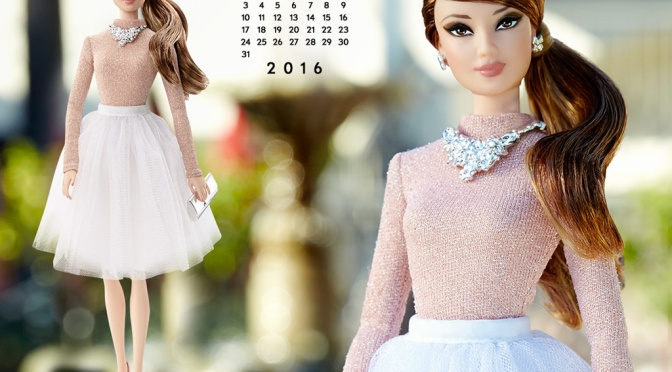 Calendario oficial de The Barbie Collection: julio de 2016