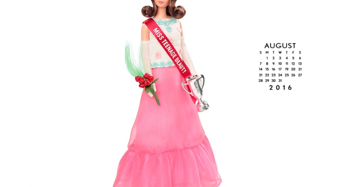Calendario oficial de The Barbie Collection: agosto de 2016