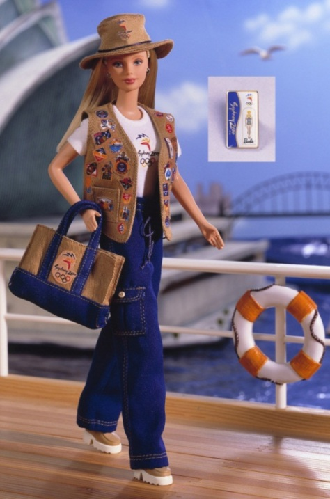 Sydney 2000 Olympic Pin Collector Barbie® Doll
