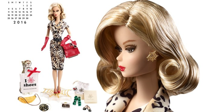 Calendario oficial de The Barbie Collection: septiembre de 2016