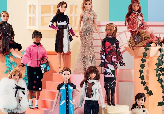 Barbie fashion icons 2016, según Vogue Italia