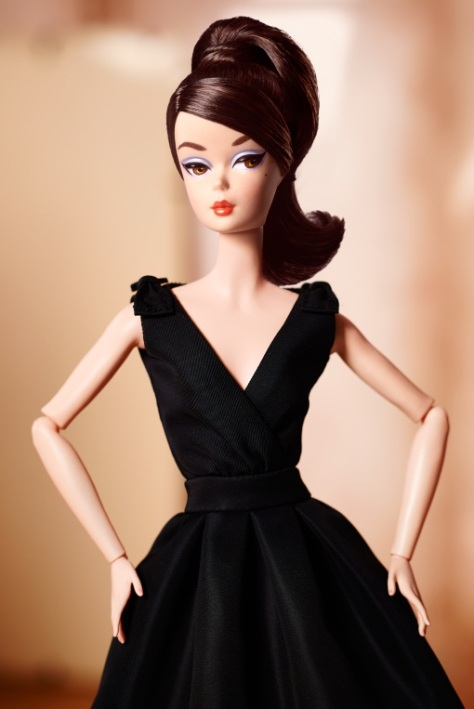 Classic Black Dress Barbie® Doll (Brunette)