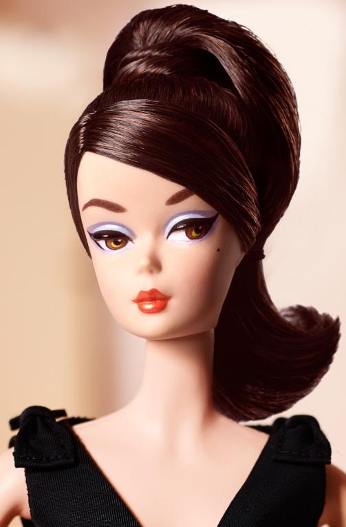 Classic Black Dress Barbie® Doll (Brunette)