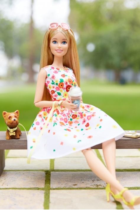The Barbie Look Barbie Doll - Park Pretty