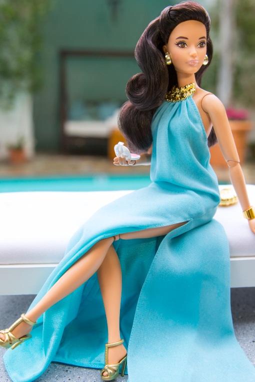 A Barbie el azul no le pone triste