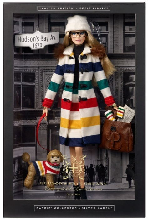 Hudson's Bay Barbie
