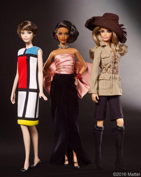 Barbie homenajea a Yves Saint Laurent