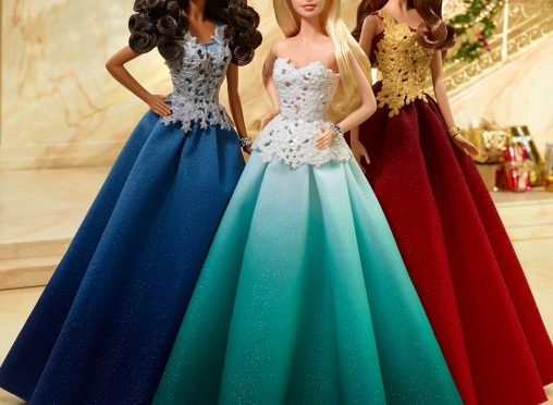 Las muñecas Barbie Holiday en vídeo