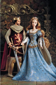 ken-and-barbie-doll-as-camelots-king-queen-arthur-and-guinevere