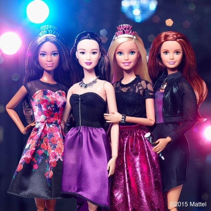 Las navidades pasadas de Barbie