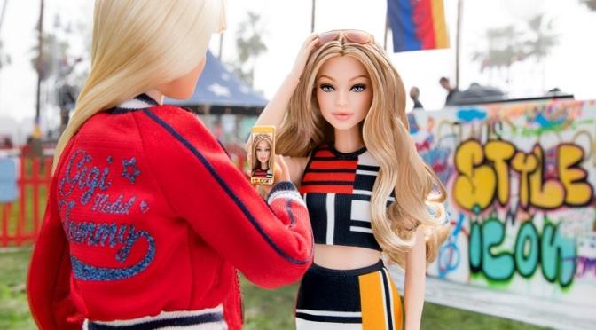 Gigi Hadid se une al club de las mujeres con Barbie
