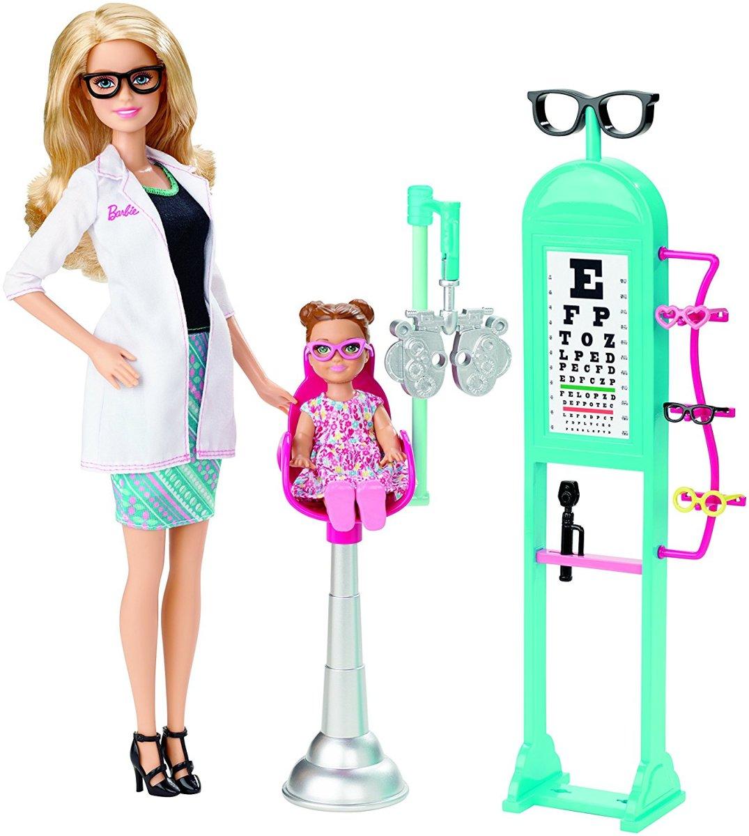 Las Nuevas Profesiones De Barbie Una Vitrina Llena De