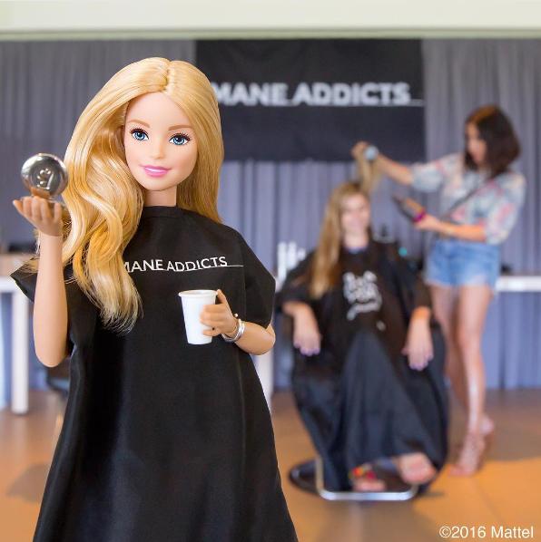 Barbie y su uso como influencer