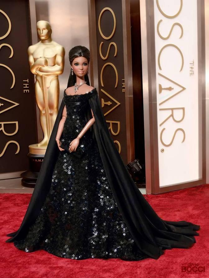 ¡Las muñecas también acuden a los Oscars!