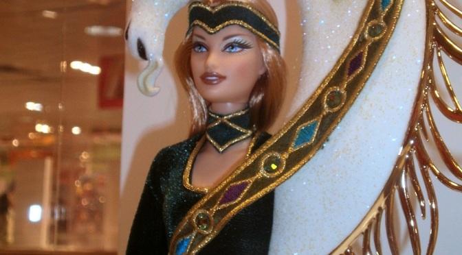 Mi primera exposición de Barbie