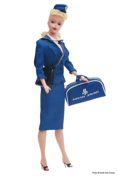 American Airlines Stewardess #984