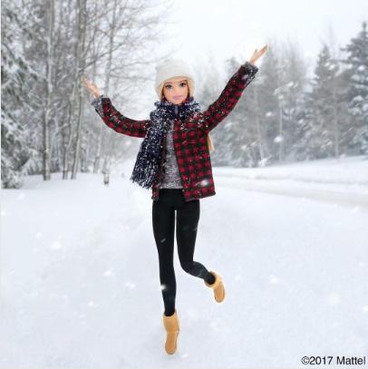 barbie nieve