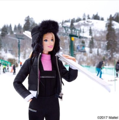 barbie ski