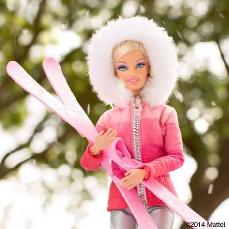 barbie snow