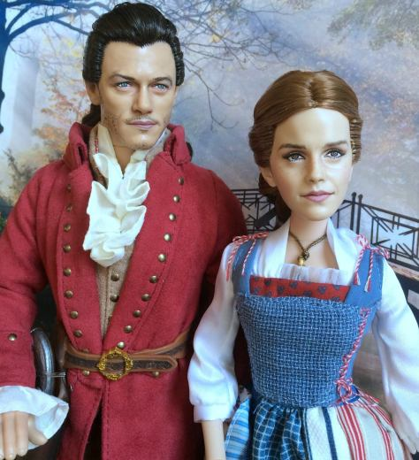 Belle and Gaston OOAK Doll Cyguy Dolls